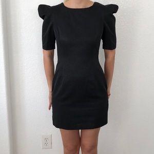 ZARA Black open back dress size Small